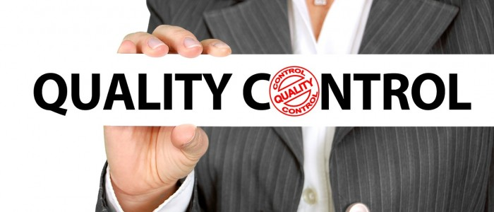 quality control through certifications and quality assurance tools and processes