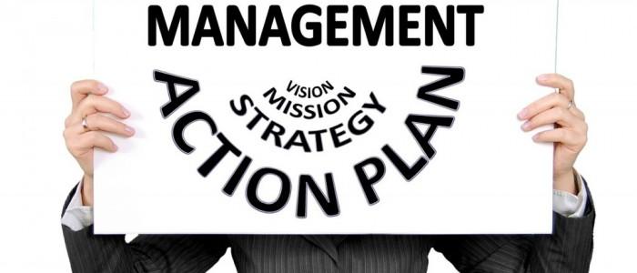 projektledelse vision mission strategy plan